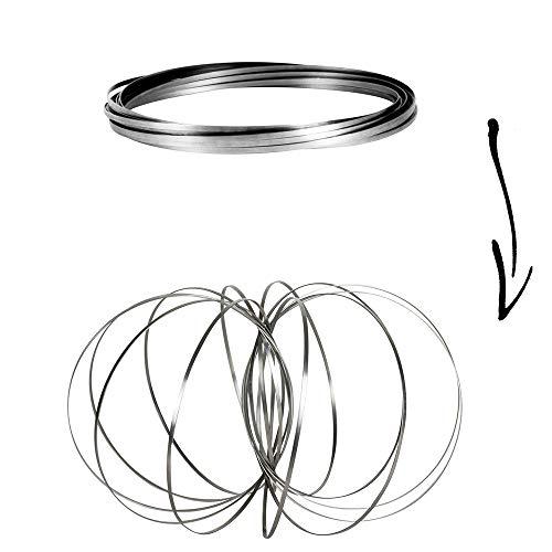 Jeux 2 Momes EA8004 Magische Ringe, Silber, Einheitsgröße