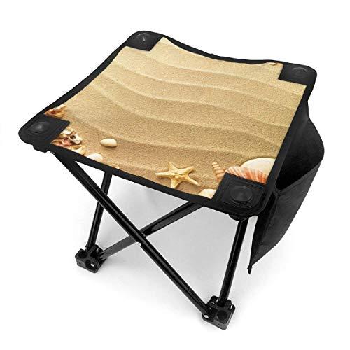 End Nazi Tabouret de Camping chaises Pliantes Sea Shells Starfish Beach Portable Chair Seat