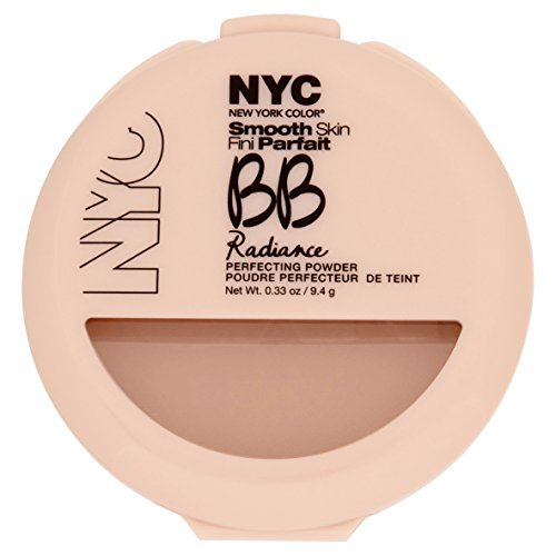 NYC Smooth Skin BB Radiance Perfecting Powder, Warm Beige by NYC