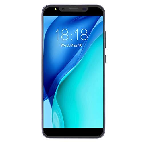 Goshyda Smartphone 3G de 5.72 Pulgadas, 512MB + 4G Dual SIM + Tarjeta de Memoria Micro dedicada Teléfonos celulares internacionales para Sistema Android OS 4.4(Púrpura)