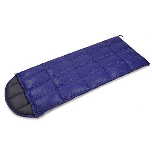 QFFL shuidai Sac de Couchage Enveloppe/Sac de Couchage en Duvet/Sac de Couchage rectangulaire Extensible/Léger Voyage en Plein air (180 + 25) * 80cm (Couleur : C)
