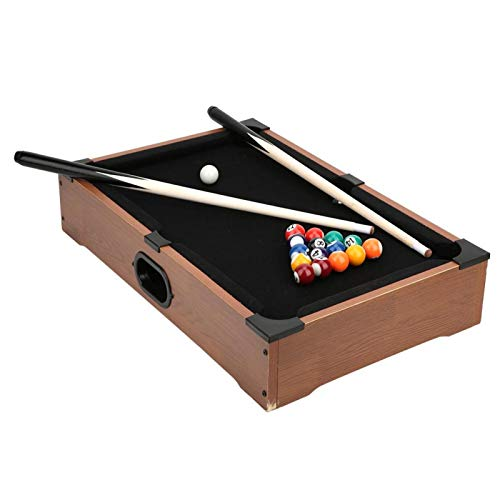 Mini Billiard Table, Mini Tabletop Pool Table, Children Pool Table, for Sports Children Boy Home Playing Parent-Child Toy