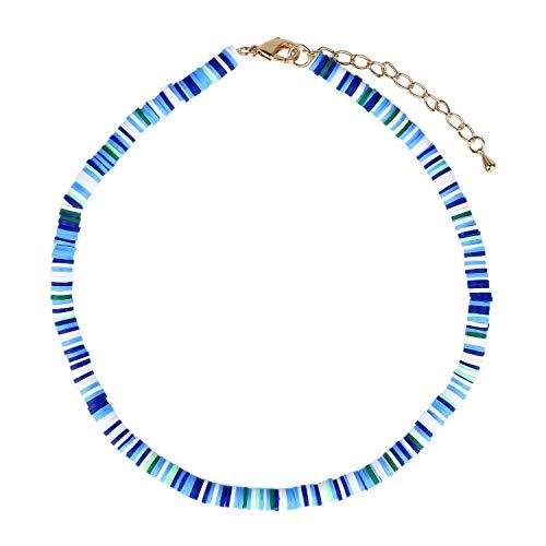 KELITCH Collares de Goma con Cuentas de Colores Collares de la Amistad Collares de Pechera Hechos a Mano Regalo para Mujeres y niñas