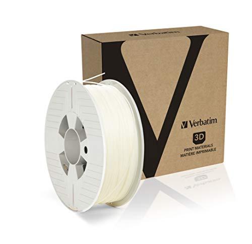 Verbatim 3D Printer Filament, PP 1,75mm, 0,5 kg Transp, 55952 (1,75mm, 0,5 kg Transp. Transparent/Natural)