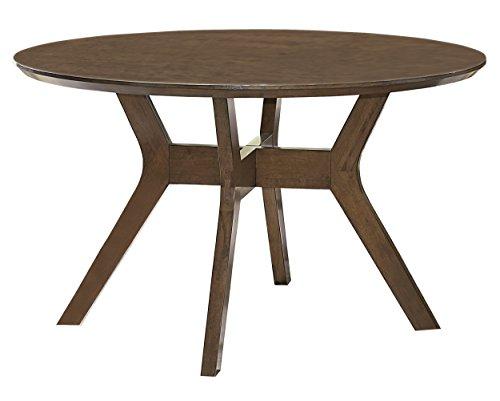 Homelegance Edam 52' Round Dining Table, Oak