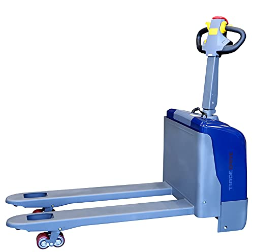 Transpallet elettrico Transpallet elettrico Transpallet Jack per pallet | 1500 kg Capacità di carico | 1150 mm Lunghezza forcella | incl. caricabatterie e batteria