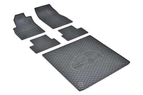 Passende Gummimatten und Kofferraumwanne Set geeignet für OPEL Astra IV J Sports Tourer Kombi 2010-2015 EIN Satz
