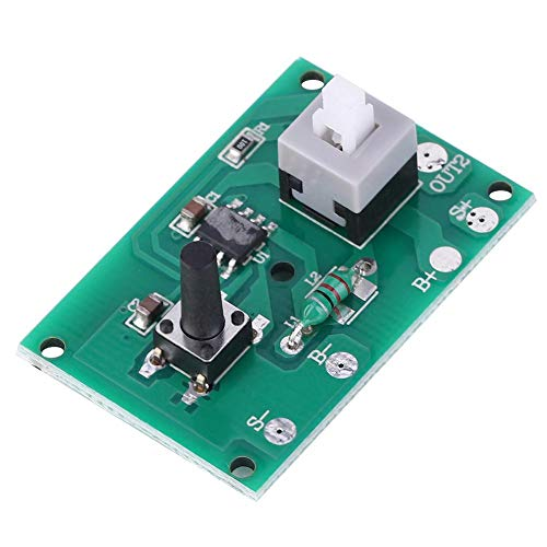Módulo Controlador de Cadena de lámpara Solar de 2 Piezas, Placa de Circuito Controlador de lámpara Solar con Modo de luz de 8 Tipos e Interruptor 1.2V 100mA