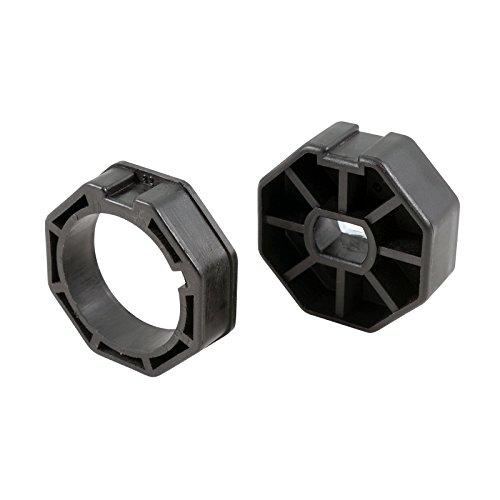 3T-MOTORS Adaptersatz für Mini Rolladenmotor Serie 3T35 50 mm 8kant Adapter Welle Rollladenmotorzubehör Rolladenzubehör für Rohrmotoren