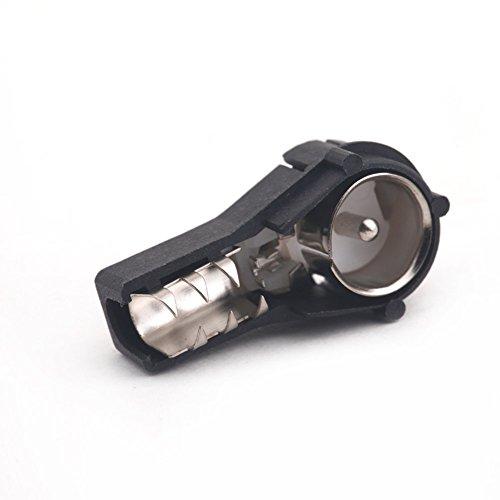KKmoon Autoradio-Antennenadapter ISO (männlich)-Anschluss