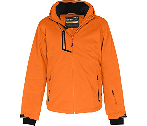 Bergson Herren Skijacke Nano, Persimmon orange [513], 58 - Herren