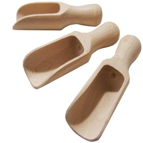 Juego de 3 palas de servir de madera de 10,5