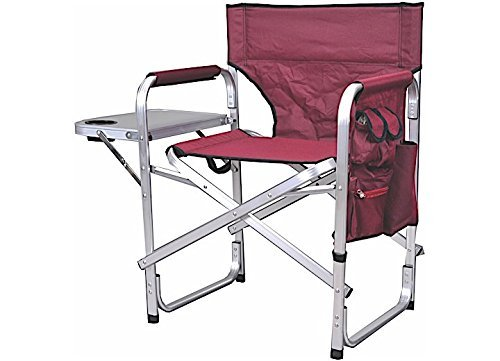Stylish Camping Full Back Folding Director's Chair.