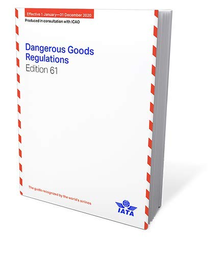 2020 61st Edition IATA Dangerous Goods Regulations - Perfect Bound - (English)