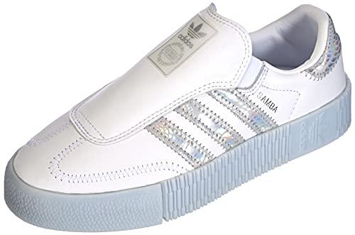 adidas SAMBAROSE Eazy W, Zapatillas Deportivas Mujer, FTWR White Supplier Colour Halo Blue, 38 EU