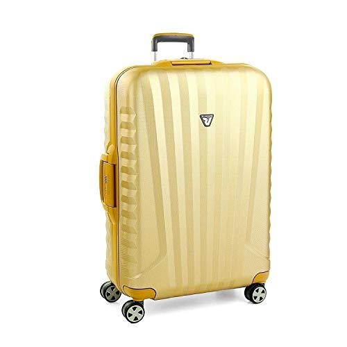 Roncato Grosser Spinner UNO Sl Premium - cm. 79 x 52 x 27 Fassungsvermögen 122 L Leicht Organisierter Innenraum TSA-Schloss 10 Jahre Garantie