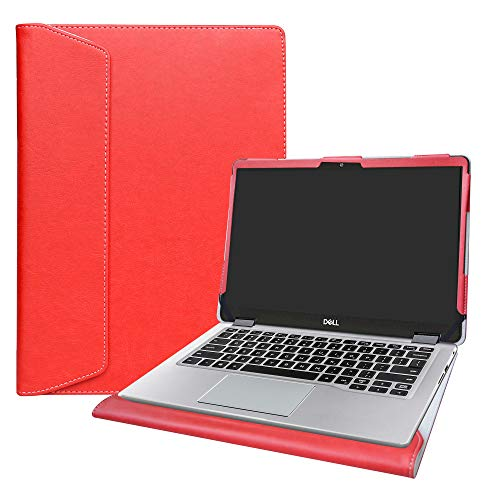 Alapmk Protective Case Cover for 15.6' Dell Inspiron 15 2-in-1 5582 5591 / inspiron 15 5584 5593 5594 Series Laptop[Warning:Not fit inspiron 15 5590 5585 5580 5570 5575 5567 5555],Red