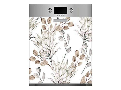 Vinilo para Lavavajillas Ramas Secas | Varias Medidas 65x75cm | Adhesivo Resistente y de Fácil Aplicación | Pegatina Adhesiva Decorativa de Diseño Profesional
