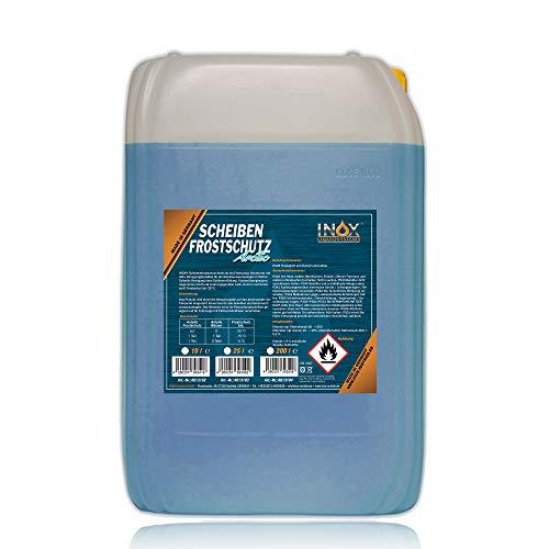 INOX® Arctic Scheibenfrostschutz Konzentrat, 25L - Auto Frostschutzmittel Scheibenwaschanlage für Scheibenwischwasser bis -35°C