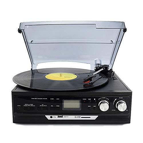 VSander Moderne Vinyl Schallplatte Spieler Antikes Grammophon Altes Tonband Radio U Multifunktions-Bluetooth