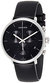 Calvin Klein High Noon Chronograph Quartz Black Dial Men s Watch K8M271C1