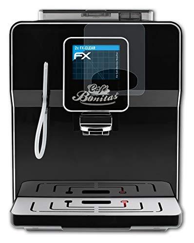 atFoliX Schutzfolie kompatibel mit Cafe-Bonitas NewStar Folie, ultraklare FX Displayschutzfolie (2X)