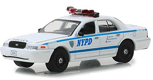 Greenlight 44830-F 1:64 Scale Hollywood Series 23 Quantico 2003 Ford Crown Victoria Police Interceptor New York City Police Dept NYPD
