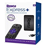 Roku Express+ HD Streaming Media Player with Voice Remote (Renewed)
