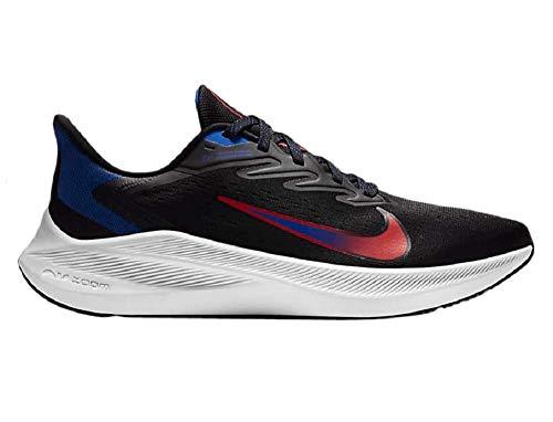 Nike CJ0291-006-10, Scarpe da Corsa Uomo, Black Chile Red Racer Blau, 44 EU