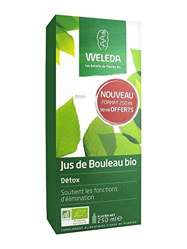 Weleda Jus de Bouleau Bio Détox 250 ml dont 50 ml Offerts