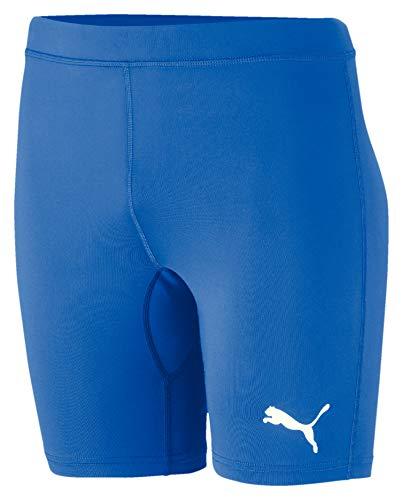 PUMA Herren Liga Baselayer Short Tight Hose, Electric Blue Lemonade, M