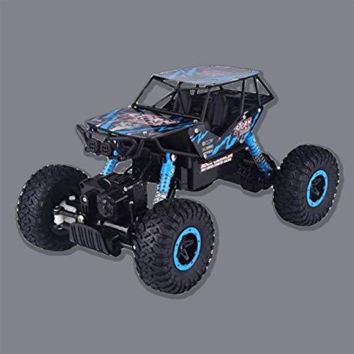 Ycco 1/14 Radio Control remoto Big Tire Monster RC Truck, 2.4G Juguetes Buggy Trucks Off-Road for Children Climber 4x4 Modelo Vehículo de juguete High Speed RC Coche 4WD Coches, Azul Regalo de Navid