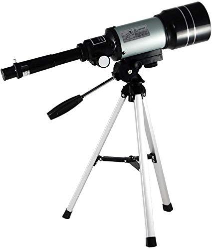 ZHAOJ Refractor Telescope Astronomical Telescope for Kids High Definition Telescope High Definition Telescope with Finder Scope Tripod for Stargazing