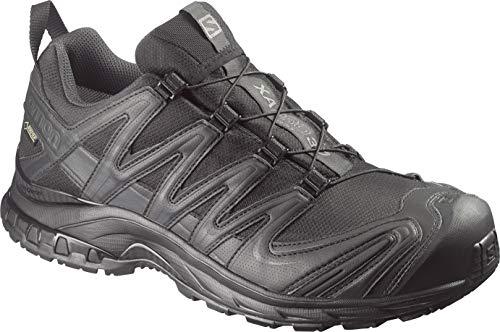 Salomon Forces XA Pro 3D GTX Taktische Schuhe, Unisex-Erwachsene, Taktischer Schuh, XA PRO 3D GTX, Schwarz/Asphalt, 12.5