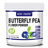 Natural Butterfly Pea Flower Powder 5.3oz (150g), 100% Pure Powder for Tea, Smoothie, Ice Cream, Food