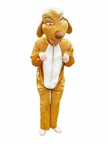 Ikumaal Erdmännchen-Kostüm, Su02 Gr. L-XL, Erdmännchen-Kostüme für Männer und Frauen, Tier-Kostüme für Fasching Karneval, als Karnevals- Fasnachts-Kostüm, Tier-Kostüme Faschings-Kostüme Erwachsene