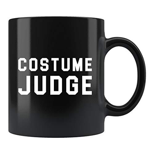 DKISEE Regalo del juez de Halloween, divertido taza de Halloween, regalo del juez del disfraz, taza de Halloween, regalo de fiesta de Halloween, juez de disfraces # c139