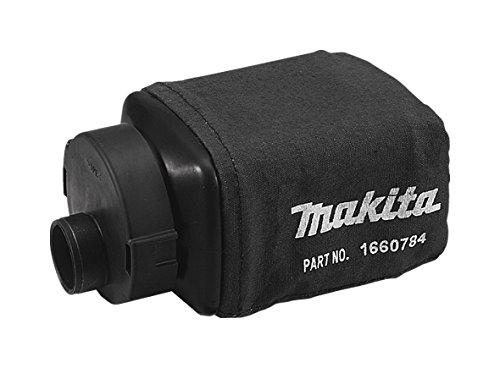 MAKITA 135222-4 135222-4-Bolsa de tela negra con adaptador para lijadora BO4556-BO4565-BO4566