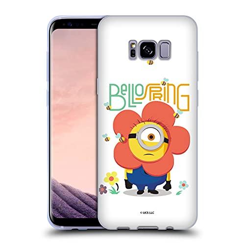 Head Case Designs Offiziell Zugelassen Minions: Rise of Gru(2021) Hello Bello Spring Ostern 2021 Soft Gel Handyhülle Hülle Huelle kompatibel mit Samsung Galaxy S8+ / S8 Plus