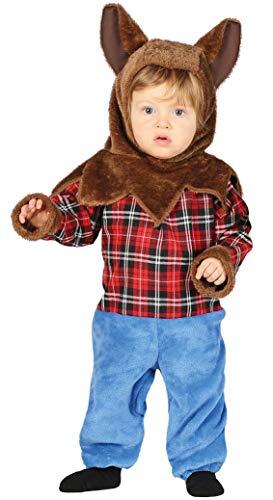 FIESTAS GUIRCA Disfraz licantropo Hombre-Lobo bebé Talla 12-24 Meses