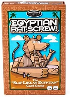 Egyptian Rat Screw Card Game by Front Porch Classics