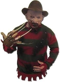 Licenza ORIGINALE FREDDY KRUEGER Pullover con lattice ferite Halloween Maglione Krüger