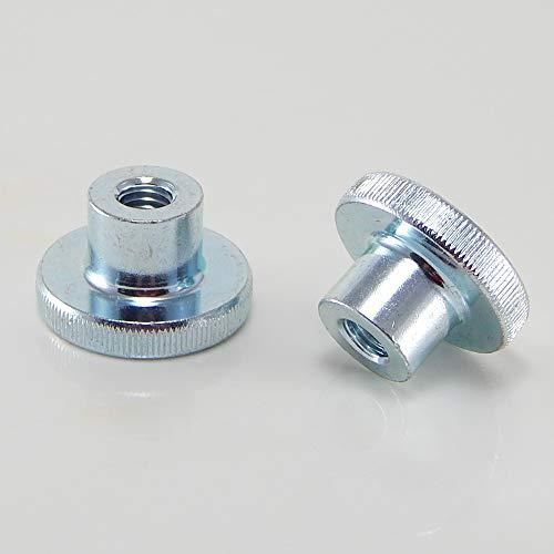 DIN6336 K /Ø50 mm Menge:2 ST/ÜCK Sterngriffmutter MENGE w/ählbar M8 Stahlgewinde