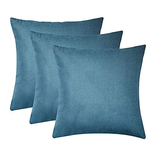 light blue couch pillows - 3