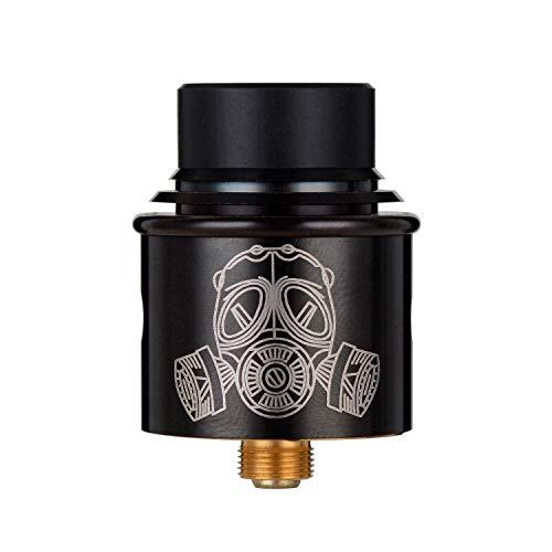 Wolfteeth RDA Clone Apocalypse, Dripping Atomizador Dual Coil, Agujero de aire ajustable, Sin Nicotina Ni Tabaco, Negro 121303