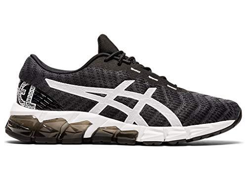 ASICS Zapatillas de running Gel-Quantum 180 5 para mujer, negro (Negro/Blanco), 40.5 EU