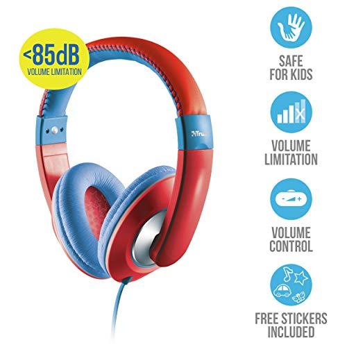 Kinderkopfhörer: 85 dB Lautstärke-Reduzierung für Kinder