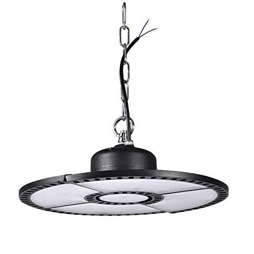 TYCOLIT UFO - Foco led industrial (200 W, 20.000 lm, IP67, ángulo de haz de 90°, 6500 K, iluminación de garaje e industrial)