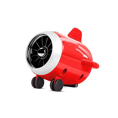 YAOHONG Speaker small airplane Bluetooth audio card portable ultra-low sound gun custom small gift Multifunction (Color : Red)