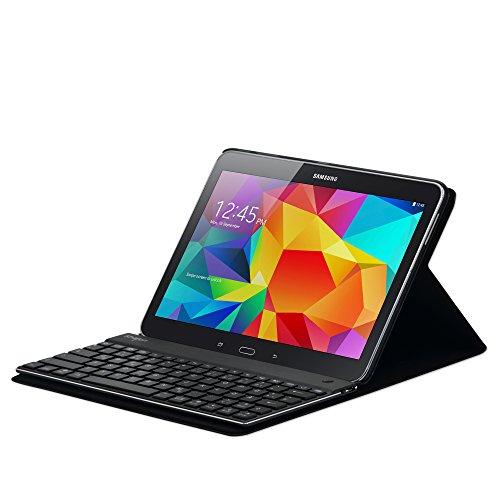 Sharon Schutztasche mit herausnehmbarer Tastatur kompatibel mit Samsung Galaxy Tab 4 10.1